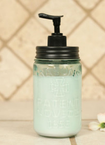CT360094D Mason Jar Soap Dispenser