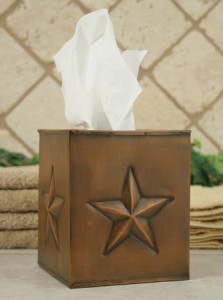 CT810861C Star Tissue Box Cover