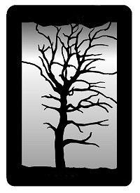 WA0312T Oak Tree Small Accent Mirror